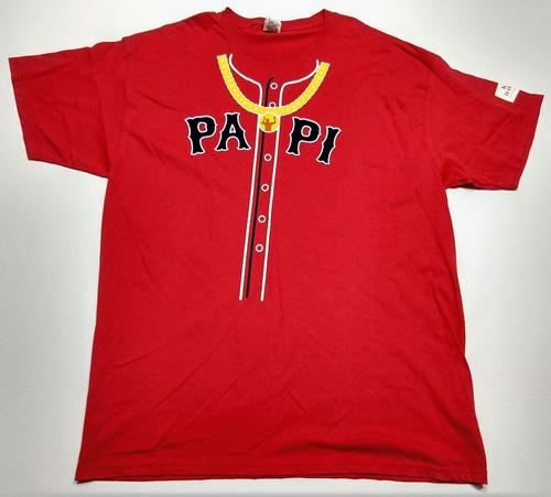 Remera Boston Red Sox Big Papi David Ortiz Talle Xl Baseball