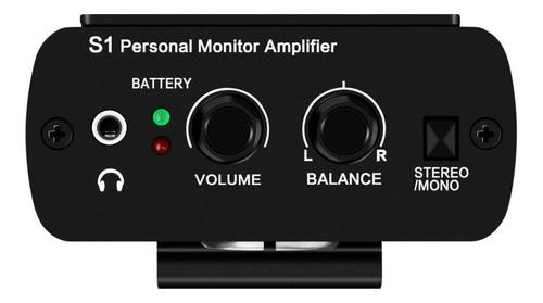Sistema Personal Para Monitoreo De Auriculares Anleon S1