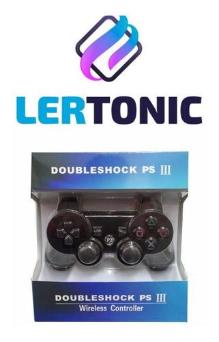 Joystick Ps3 Playstation 3 Color Negro
