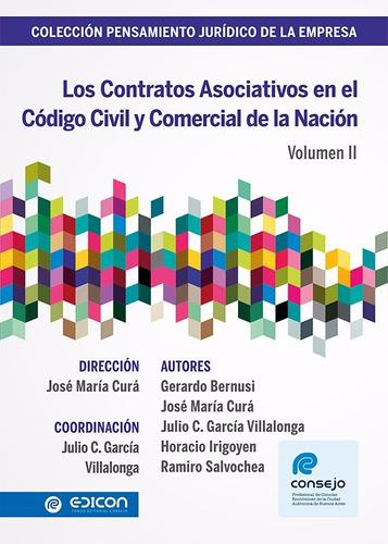 Los Contratos Asociativos En El Codigo Civil Volumen 2