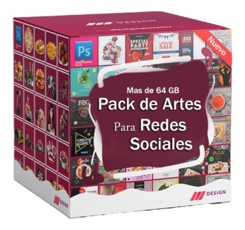 Super Pack Diseño Redes Sociales Mas De 64 Gb Psd