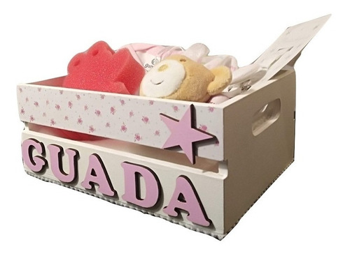Ajuar Bebe Regalo Nacimiento Caja Personalizada Nene Nena 8p