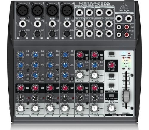 Consola Behringer Xenyx  Canales Mixer Estudio Vivo
