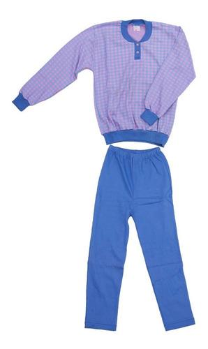 Pijamas Para Niños De Algodon Manga Larga