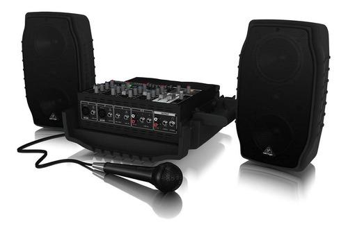 Sistema De Sonido Portatil Behringer Ppaw 5 Canales