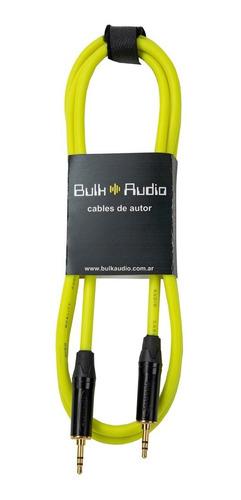 Cable De Audio Miniplug - Miniplug - Bulkaudio (Car) 1.5 M