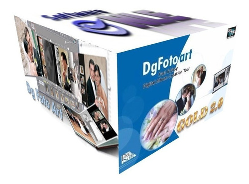 Dg Foto Art Gold 2.0 Para Creacion Fotolibros Para Impresion