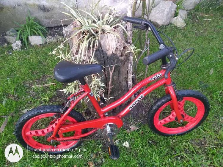 Bicicleta rodado 16 usada en muy buenas condiciones