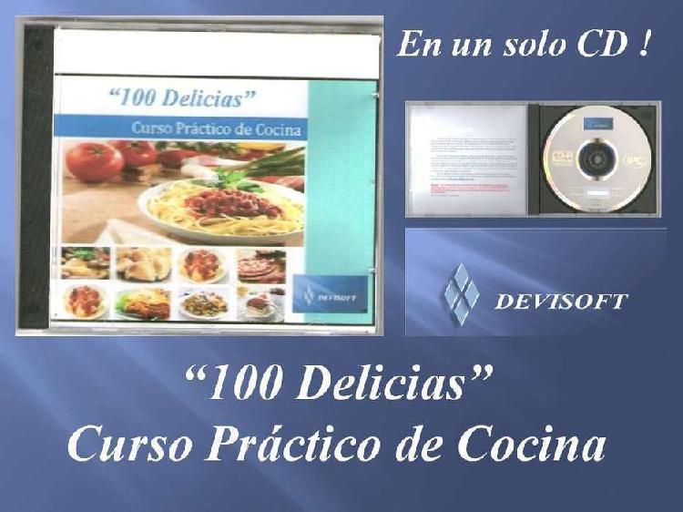 Curso Práctico de Cocina en formato digital
