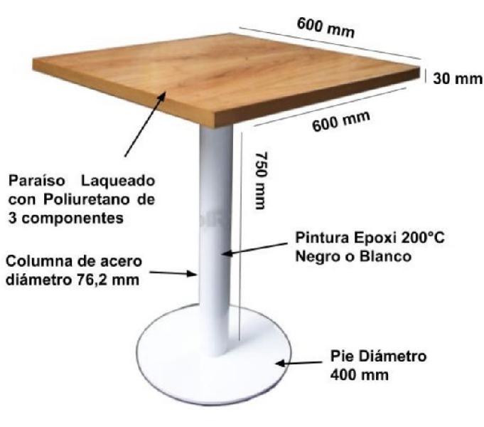 Mesas Para Bar Linea Espress Solred