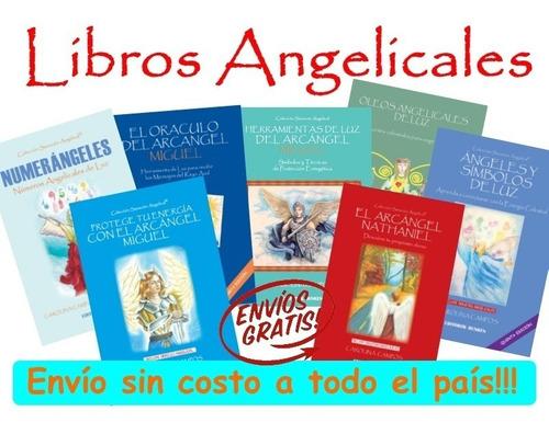 Pack 4 Libros De Ángeles A Elección - Carolina Campos