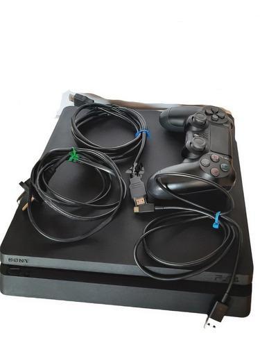 Ps4 Slim 500 Gb Playstation 4 Joystick Original V2 Y Juegos!