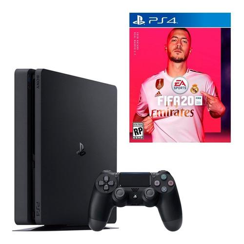 Ps4 Sony Playstation 4 Slim 1tb Fifa 20 Bundle + Dualshock 4