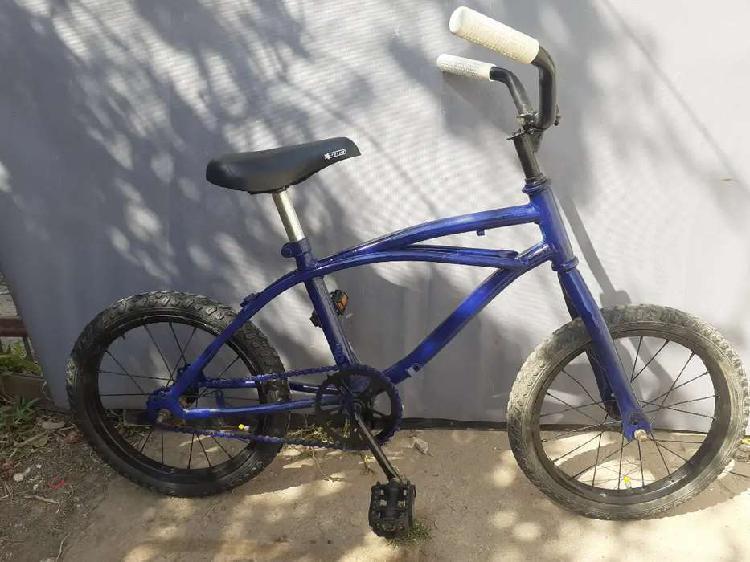 Vendo bicicleta rodado 16 RESTAURADA