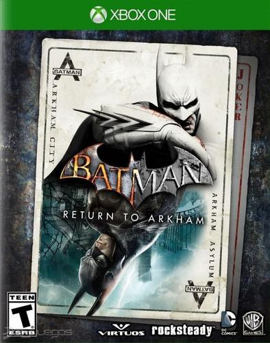 Batman: Return To Arkham Xbox One Codigo Original Oferta