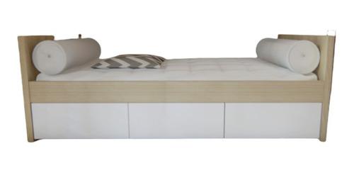 Cama Divan Con Cajones 1 Plaza Living - Dormitorio