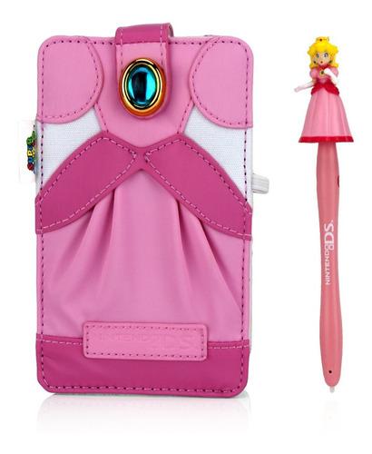 Funda Princesa Peach Original Nintendo Ds Lite 3ds Dsi Lapiz