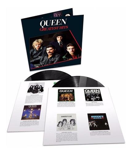 Queen Greatest Hits I Vinilo Doble 2 Lp Import Nuevo Stock