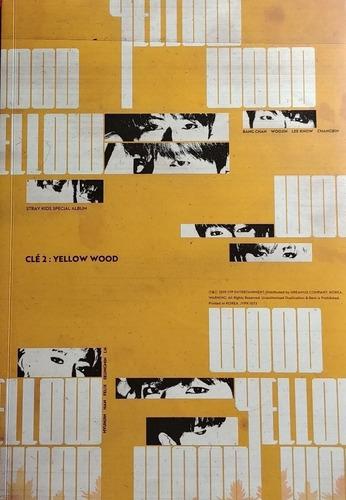 Stray Kids Cle 2 Yellow Wood Ya En Stock! Cd Nuevo Importado