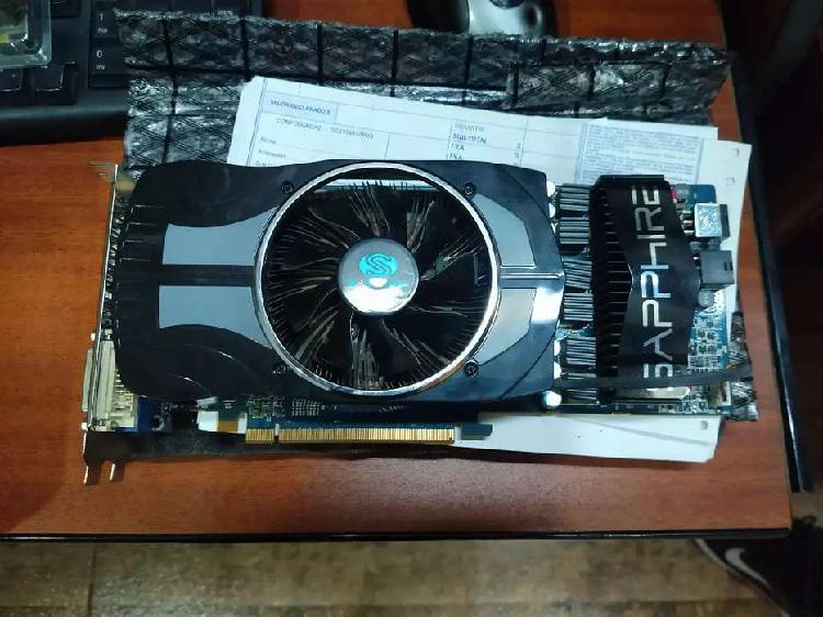 Placa de video Sapphire Radeon hd4890