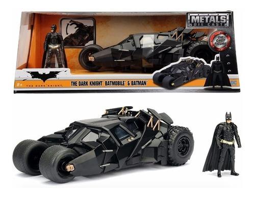 Vehiculo Batman The Dark Knight Batimovil Con Figura Escala