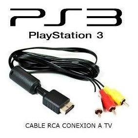 Cable Av Rca Play Station 2 Y 3 Con Con Filtro Alta Calidad