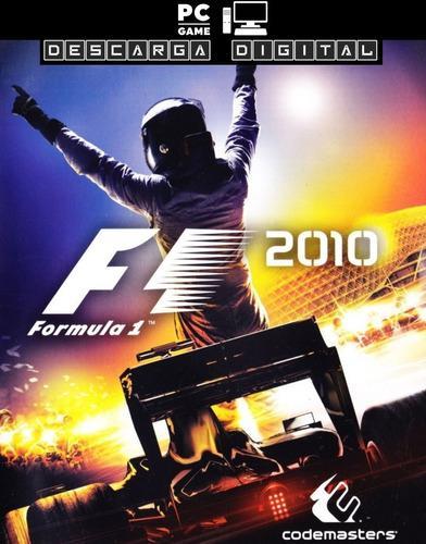 F1 2010 Juego Pc Digital Español - Formula 1 Entrega Ya