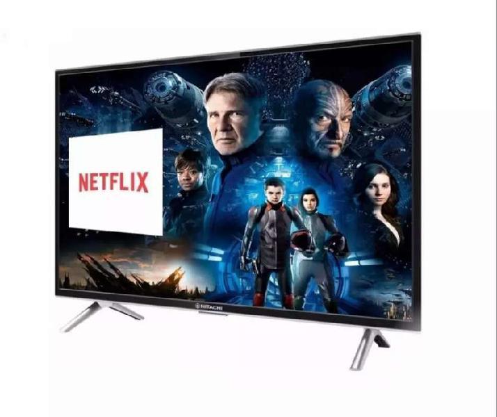 "Smart TV Hitachi 32"". Android. Control por voz."