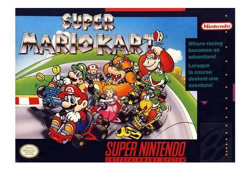 Super Mario Kart Juego Usado Super Nintendo Snes Vdgmrs