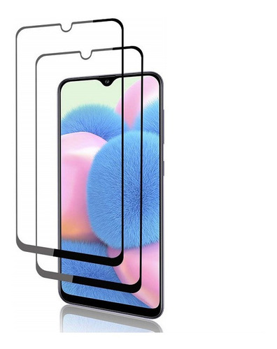 Un Vidrio Templado King Case® 6d Exclusivo Galaxy A30s