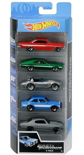 Autitos Hot Wheels X5 Rápido Y Furioso Orig.mattel