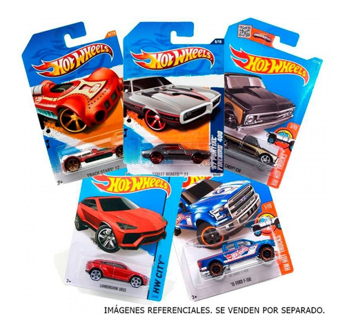 Hot Wheels Autos De Coleccion Surtidos Mattel