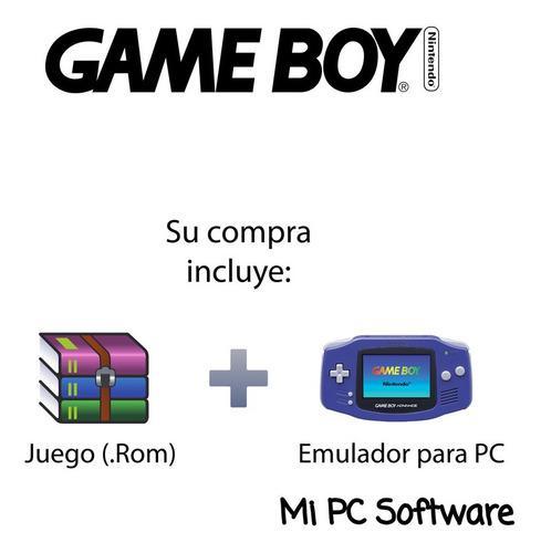 Juego Contra - The Alien Wars + Emulador Gameboy Para Pc
