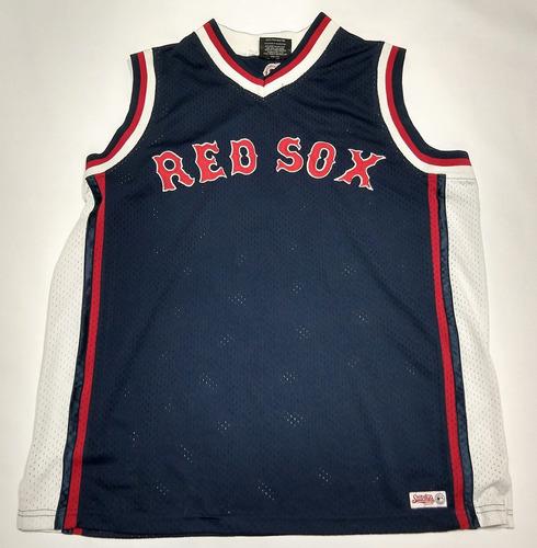 Camiseta Musculosa Boston Red Sox Stitches Talle L