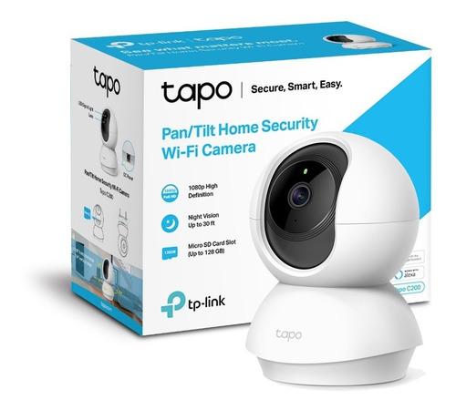 Cámara De Seguridad Wi-fi Full Hd 360º Tp Link Tapo C200