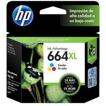 Cartucho 664 XL COLOR HP Modelo 664 XL COLOR HP