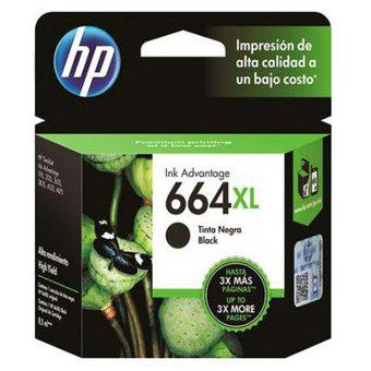 Cartucho 664 XL negro HP Modelo 664 XL NEGRO HP Negro