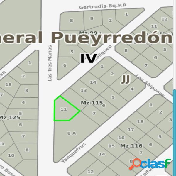 LOTE DOBLE UBICADO EN EL BOSQUE PERALTA RAMOS - MZA 115 -
