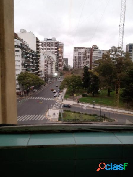 2 Ambientes al Frente con Balcon en Palermo