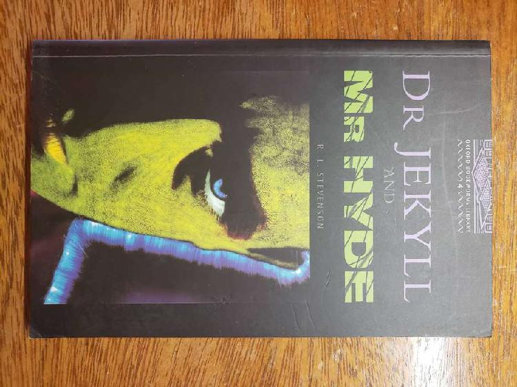 Libro Dr Jekyll And Mr Hyde Stevenson Stage 4 Oxford Ingles