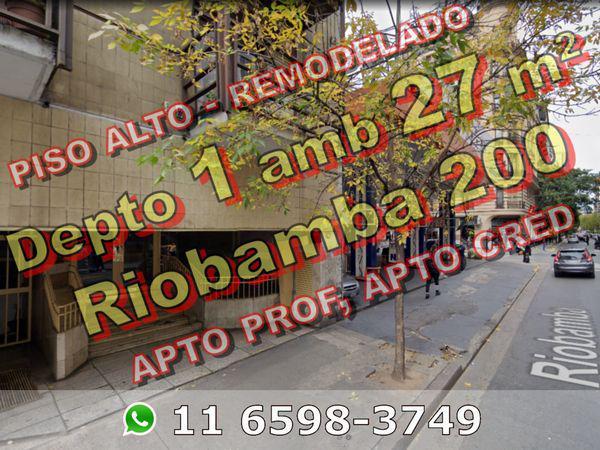 Riobamba 200 - Departamento en Venta en Balvanera, Capital