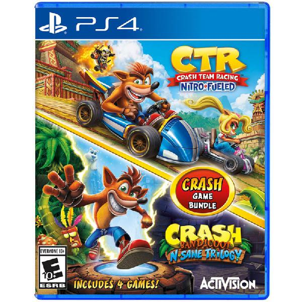 Crash Ctr Team Racing Nitro Fueled + N-Sane Trilogy Bundle