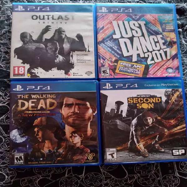 VENDO JUEGOS DE PS4 USADOS