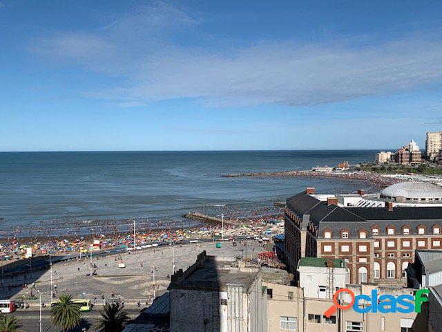 Departamento en venta 3 ambientes con vista al mar en Zona
