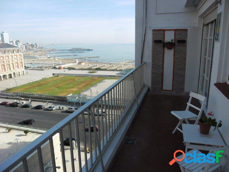 Venta Departamento 2 Ambiente Balcón Terraza Vista Al Mar