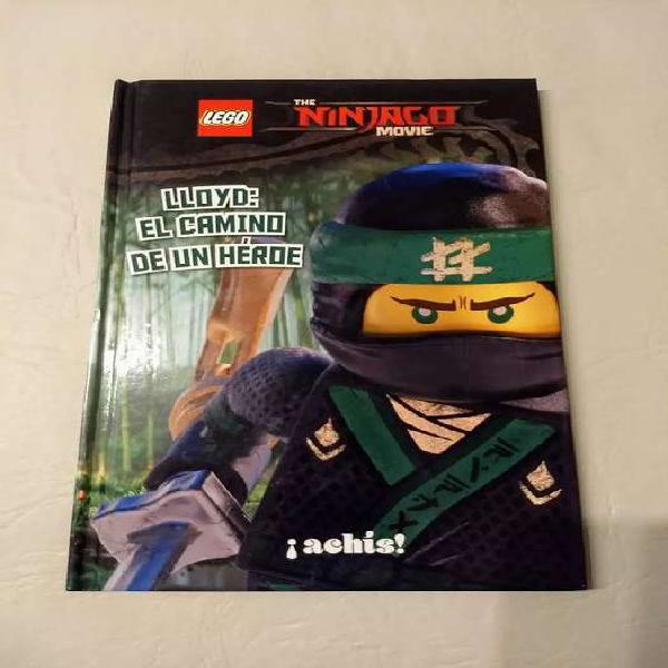 """Libro infantil LEGO """"Ninjago Movie - Lloyd: el camino de un"""
