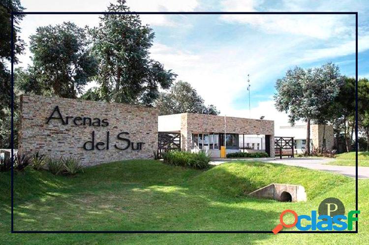 Venta Lote Barrio Privado Arenas del Sur