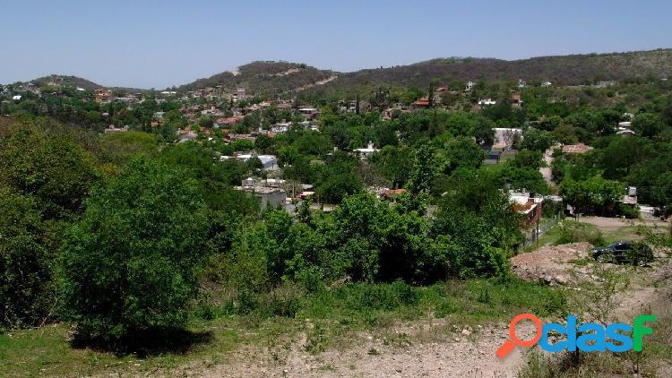 Vendo Lote ESQUINA 600m2 en Rio Ceballos