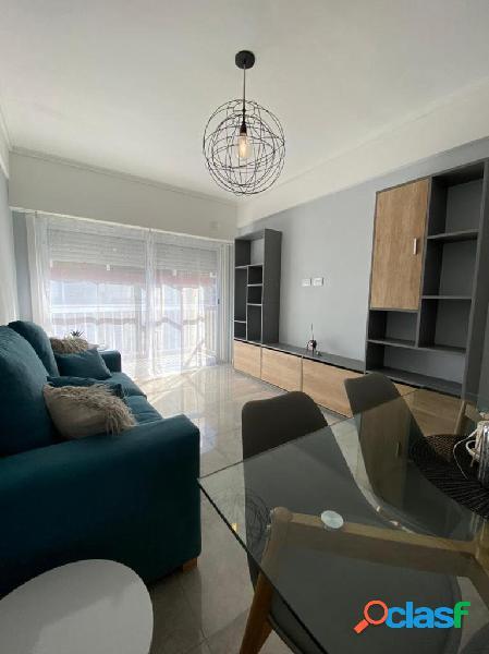 Venta departamento dos ambientes con balcón Zona