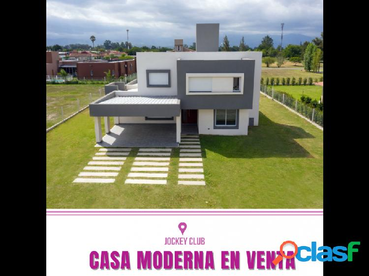 Casa Moderna en Jockey Club Salta